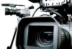 Dos dv-videocámaras Fotografía de archivo