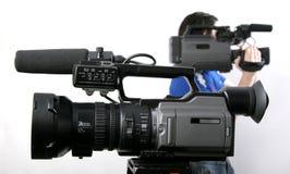Dos dv-videocámaras Imagenes de archivo