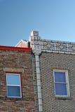 Dos edificios viejos foto de archivo libre de regalías