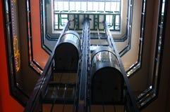 Dos elevadores Fotos de archivo