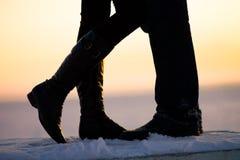 Dos enamorados Foto de archivo libre de regalías