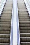 Dos escaleras móviles Fotografía de archivo