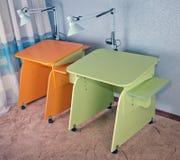 Dos escritorios Foto de archivo libre de regalías