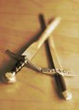 Dos espadas Imagenes de archivo