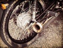 Dos et understructure de moto Images stock