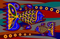 Dos ethnicfishes Imagenes de archivo