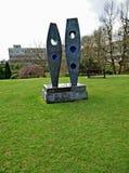 Dos figuras escultura Imagen de archivo libre de regalías