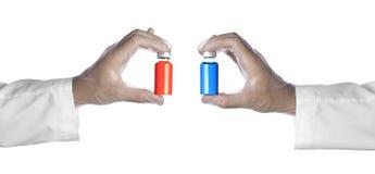 Dos frascos imagen de archivo libre de regalías