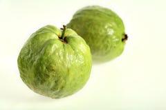 Dos frutas de guayaba Fotografía de archivo