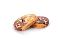 Dos galletas Fotografía de archivo libre de regalías