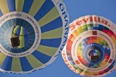 Dos globos Imagen de archivo