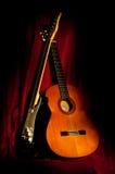Dos guitarras imágenes de archivo libres de regalías