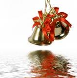 Dos handbells imagen de archivo libre de regalías