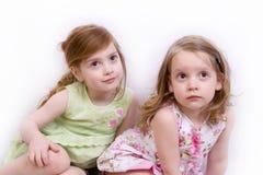Dos hermanas imagen de archivo