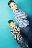 Dos hermanos, Fotos de archivo libres de regalías