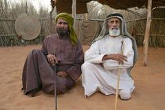 Dos hombres árabes Fotos de archivo libres de regalías