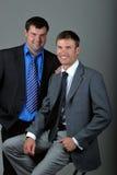 Dos hombres de negocios Foto de archivo libre de regalías