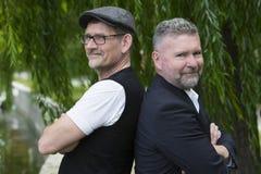 Dos hombres de negocios imagenes de archivo