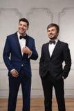 Dos hombres de negocios acertados Foto de archivo libre de regalías