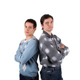 Dos hombres jovenes Imagenes de archivo