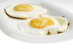 Dos huevos Fotografía de archivo libre de regalías