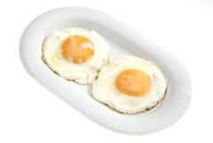 Dos huevos Imagen de archivo libre de regalías