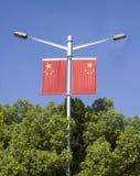 dos indicadores nacionales de China Fotografía de archivo