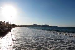 Dos Ingleses do Praia - de ³ de Florianà polis, Santa Catarina - Brasil Foto de Stock Royalty Free