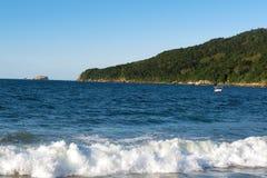 Dos Ingleses do Praia - de ³ de Florianà polis, Santa Catarina - Brasil Fotos de Stock