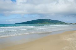 DOS Ingleses, Florianopolis de Praia Image libre de droits