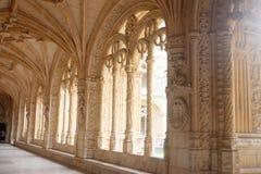 DOS JerÃ'nimos Mosteiro - πίστη και τέχνη της Πορτογαλίας στοκ εικόνες