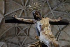 DOS JerÃ'nimos Mosteiro - πίστη και τέχνη της Πορτογαλίας στοκ εικόνα