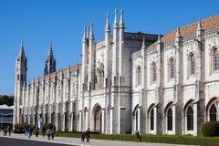 DOS Jerónimos de Mosteiro Image stock