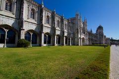 DOS Jerónimos de Mosteiro Imágenes de archivo libres de regalías