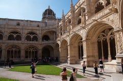 DOS Jerónimos di Monastero Immagine Stock Libera da Diritti