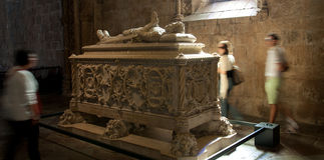 DOS Jerónimos di Monastero Fotografia Stock