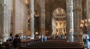DOS Jerónimos di Monastero Fotografia Stock Libera da Diritti