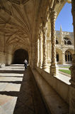 DOS Jerónimos, Lisbona di Mosteiro Fotografia Stock Libera da Diritti