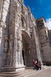 Dos Jerónimos van Monastero Stock Foto