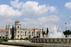 Dos Jeronimos de Mosteiro Imagem de Stock Royalty Free