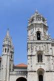 Dos Jeronimos de Mosteiro Fotografia de Stock