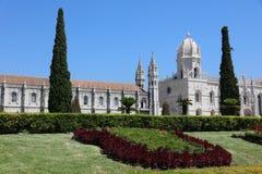 DOS Jeronimos de Mosteiro en Lisboa portugal Foto de archivo libre de regalías