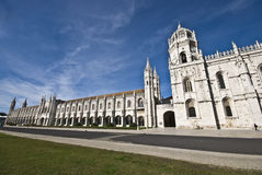 DOS Jeronimos di Mosteiro Fotografie Stock Libere da Diritti
