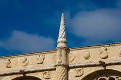 DOS Jeronimos Mosteiro μοναστηριών Jeronimos ή μοναστηριών Hieronymites Στοκ φωτογραφίες με δικαίωμα ελεύθερης χρήσης