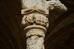 DOS Jeronimos Mosteiro μοναστηριών Jeronimos ή μοναστηριών Hieronymites Στοκ εικόνα με δικαίωμα ελεύθερης χρήσης