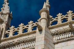 DOS Jeronimos Mosteiro μοναστηριών Jeronimos ή μοναστηριών Hieronymites gargoyle Στοκ Φωτογραφίες