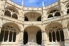dos jeronimos mosteiro Fotografia Royalty Free