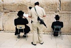 Dos judíos Fotografía de archivo