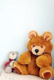 Dos juguetes del oso Imagen de archivo