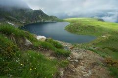 1 dos 7 lagos 3 Rila Fotos de Stock Royalty Free